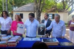 Presentación-del-Libro-y-homenaje-a-Gómez-en-su-casa-natal.-Baní, República-Dominicana-enero 2018