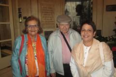 María de Jesús Lozano, Irma Rodríguez y Francisco Henríquez, Madrid 2013